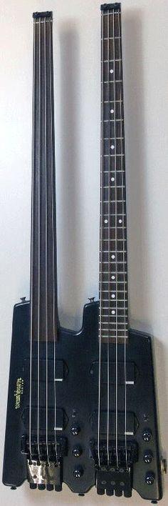 Washburn Bantam twin neck Bass Guitar