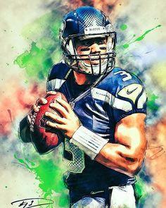 e19e921bce227 Russell Wilson quarterback for the  seattleseahawks  nfl  russellwilson   gohawks Jugadores De Futbol