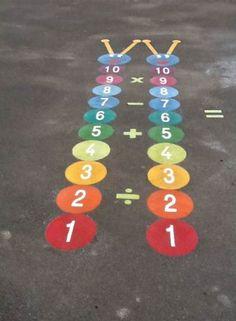 Kids Playground Equipment – Playground Fun For Kids Playground Painting, Playground Games, Playground Design, Children Playground, Natural Playground, Outdoor Playground, Modern Playground, Outdoor Classroom, Outdoor School