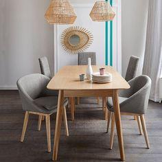 Table de salle à manger évolutive de 4 à 10 couverts, Biface La Redoute Interieurs | La Redoute Mobile