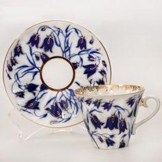 Bluebells Teacup w/ Saucer