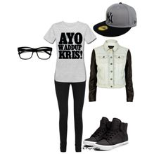 EXO M Kris Outfit