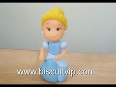 Baby Princesas Disney - Cinderela - Canal Aula de Biscuit - YouTube