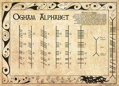 Oghams: La Tradición Escrita de los Druidas                              …