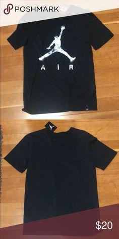 d67c27438d5 BRAND NEW Air Jordan Tee Black Air Jordan tee! Brand new! Jordan Shirts Tees