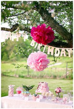 Garden party by Call me cupcake, via Flickr