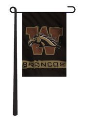 Western Michigan Broncos 13x18 Garden Flag
