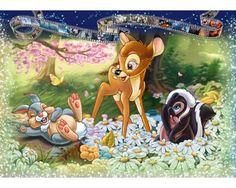 Puzzle Ravensburger Bambi de 1000 Piezas