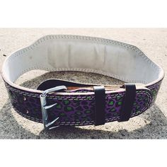 Bring out your inner beast during your workout with our #shehulk weight belt