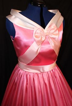 Adult Cinderella Pink Gown Costume Made By the Mice. I have always wanted one of these.