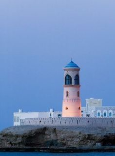 Sur Lighthouse in Oman, Sharqiya Region, Ayajh Town / Beacon lights