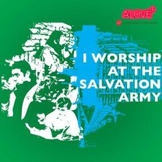 Free download for teen ministry...I Worship at The Salvation Army