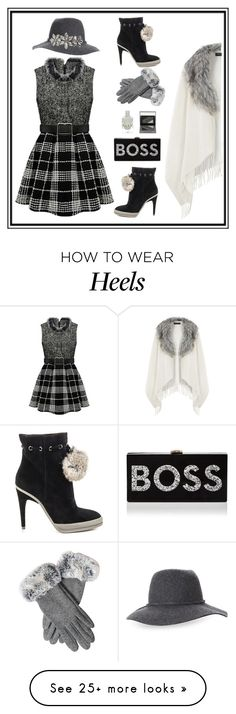 """""""Work Outfit - Gray Dress"""" by summer913 on Polyvore featuring Dorothy Perkins, BCBGMAXAZRIA, Burberry, Milly, Kathy Jeanne, minidress, workoutfit and graydress"""