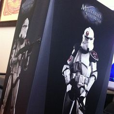 Acquired: October 19, 2012  Item: The Dark Knight Rises: Militaries of Star wars: Commander Neyo of the 91st Reconnaissance Corps. 1:6 scale action figure by Sideshow Collectibles