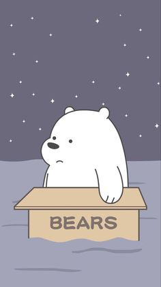 ice bear we bare bears blue iphone wallpaper Wallpaper Iphone Disney, Cute Disney Wallpaper, Kawaii Wallpaper, Cute Wallpaper Backgrounds, Cute Cartoon Wallpapers, Galaxy Wallpaper, Ice Bear We Bare Bears, We Bear, Pastell Wallpaper
