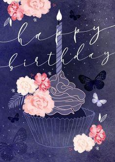Happy Birthday Greetings Friends, Happy Birthday Art, Happy Birthday Pictures, Birthday Blessings, Happy Birthday Messages, Birthday Love, Happy Birthday Daughter, Birthday Wallpaper, Birthday Letters