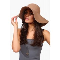 Bardot floppy wool hat $24.99