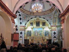 Ermita de Santa Quiteria con el retablo de 2013.