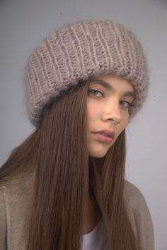DOUBLE HAT в три нити (норка) в магазине «LOLA. ME» на b331ceca480c