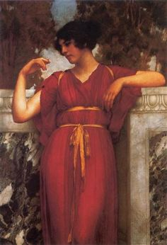The Ring - John William Godward