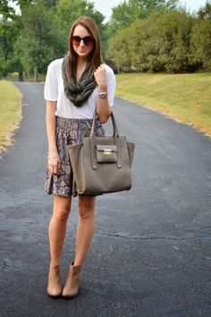 simple fall outfit | lenore lamé