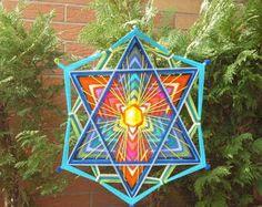 Mandala Ojo de Dios 1 m x 1 m