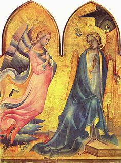 Lorenzo Monaco: Annunciation, 1410-15 Source: Wikimedia Commons