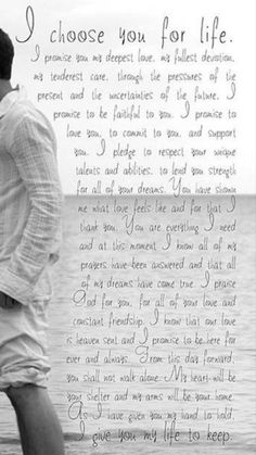 Wedding vows to husband quotes sweets Ideas wedding quotes Marriage Vows, Love And Marriage, Marriage Advice, Love Poems, Love Quotes For Him, You Complete Me Quotes, Wedding Vows To Husband, Best Wedding Vows, Wedding Wows