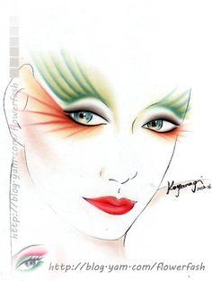 紙妝設計/鳳凰 (進階中級課程)
