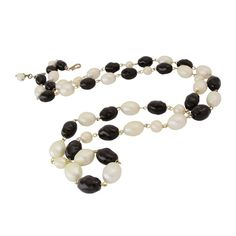 Chanel Vintage CHANEL Sautoir - chain with a large BAROQUE pearls| Rebelle|£1143