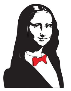 many variations of  the mona lisa | La Gioconda by Brut Carniollus