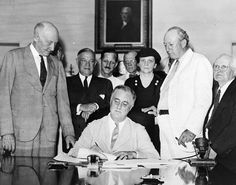 On This Day in History: President Franklin D. Roosevelt signs the Social Security Act in 1935; The American Football League was founded in 1959; and The Rocky Horror Picture Show, the longest-running release in film history, opens in London in 1975.