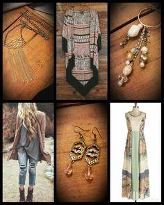 Bohemian Babe ♡ www.spruceandpinejewelry.com