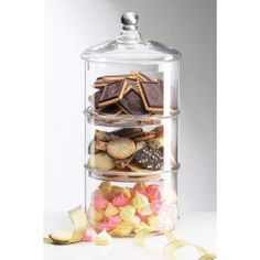 3 Tier Canister - Large (Gift Boxed)