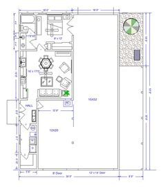 Shop With Living Quarters, Floor Plans And Rv Garage On Pinterest ·  Apartment Floor PlansBarn ...