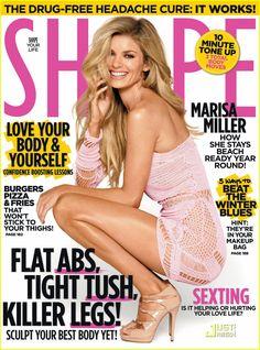 Marissa Miller | Shape Magazine Cover