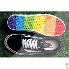 65 Best Rainbow Vans images Rainbow varebiler, Vans old skool  Rainbow vans, Vans old skool