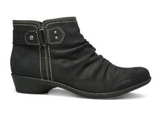 Nicole is no slouch when it comes to style – you can slide in, zip up and take off whenever the mood strikes.  I own these and love them! Great with leggings or boot cut jeans. Instant comfort.