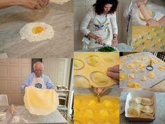 ravioli making with Mr Giovanni Rana