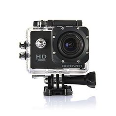DBPOWER® Waterproof Action Camera 12MP 1080P HD with Free Accessories Kit (Black)   A versatile, powerful action camera with unparalleled overall performance but only at 1/3 of the price of a GoPro?  Why not take a DBPOWER Action Camera, which makes it easy to capture and share your world.