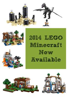 I have been stalking for these since they pulled them the other day but the NEW 2015 Lego Minecraft kits are back!!