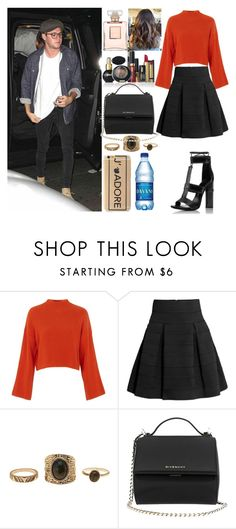"""At the Coldplay concert with Niall"" by zandramalik ❤ liked on Polyvore featuring Topshop, H&M, Tom Ford, Chanel, Charlotte Russe, Pupa and Givenchy"