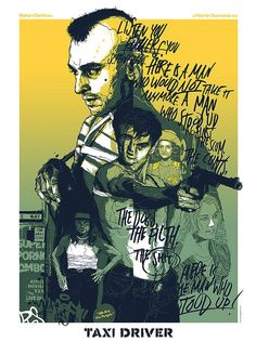 Taxi Driver - Grzegorz Domaradzki ---- Spoke Art Presents SCORSESE: An Art Show Tribute @ Bold Hype in NYC