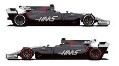 Equipe Haas muda pintura dos carros para o restante da temporada da F1 - 19/05/2017 - UOL Esporte