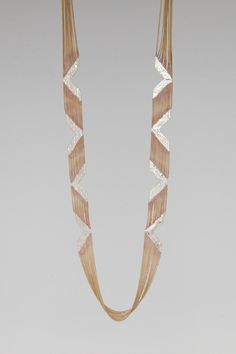 Totokaelo - Hannahk - Arrows - Mahogany, super cool art deco style necklacks!!