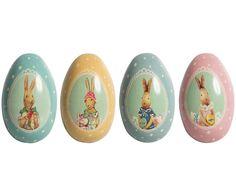 Kovové velikonoční vajíčko Rabbit | Bella Rose