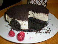 Me Encanta el Chocolate: Tarta de galletas oreo y chocolate blanco ( con y sin thermomix)