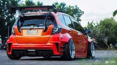 Honda Vtec, Honda Civic Si, Honda Jazz, Honda Fit, Car Goals, Tuner Cars, Sweet Cars, Modified Cars, Car Photography