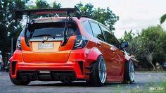 Honda Vtec, Honda Civic Si, Honda Jazz, Honda Fit, Car Goals, Japan Cars, Tuner Cars, Fender Flares, Sweet Cars