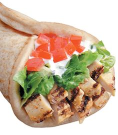 Dietitian-recommended Chicken Pita at Miami Subs #healthydining